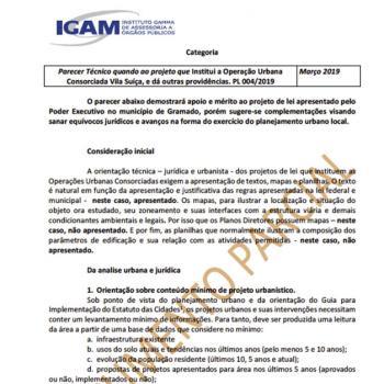 Assessoria e Consultoria a Órgãos Públicos e Privados